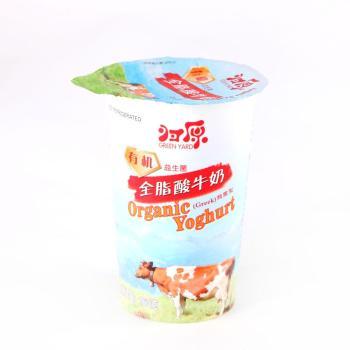 【每日鲜】归原有机全脂凝固型酸奶160g
