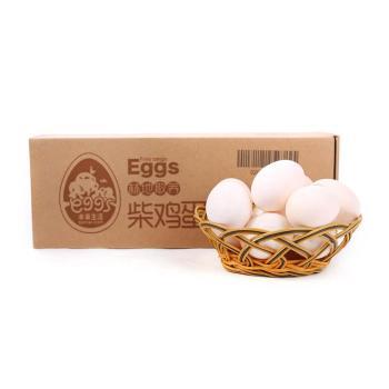 【每日鲜】林地散养柴鸡蛋12枚