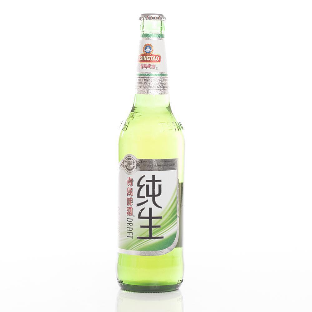 青岛纯生啤酒 600ml