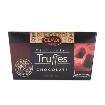 赛梦松露形浓醇黑巧克力200g——法国进口