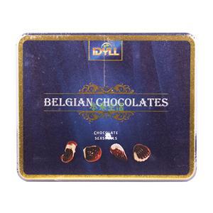 伊迪黎尔蓝色海洋贝壳形巧克力礼盒250g——比利时进口