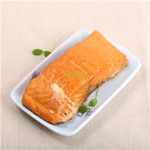 丹麦进口 热熏三文鱼块 125g