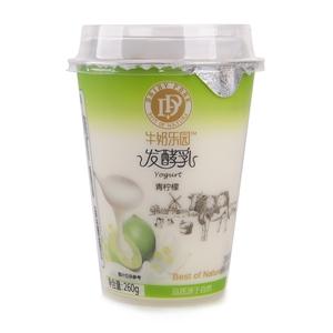 牛奶乐园青柠檬果粒发酵乳260g